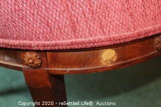 Vintage Barrel Chair