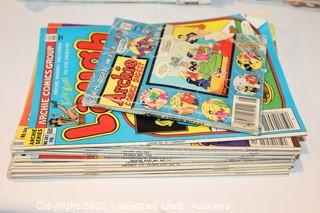 Large Variety of Vintage Archie and Richie Rich Comics