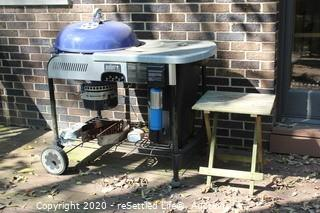 Weber Grill Performance Charcoal Portable Grill