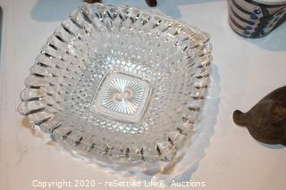 Wilton and Lenox Serving Trays and Hadley Pottery