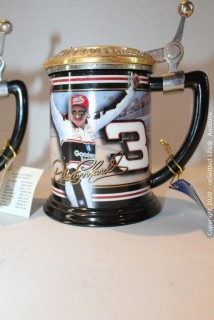 Dale Earnhardt Collectible Franklin Mint Steins