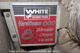 White Yard Boss 300