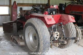 International 244 Tractor with Woods L59 Mower Belly Deck ~1784 hours