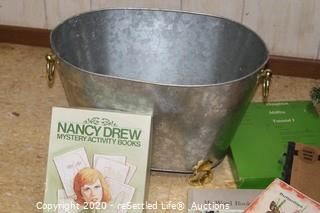 Silver Bucket and Books