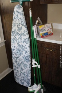 Ironing Board, Iron, Microfiber Cloths and More