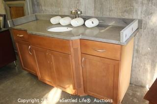 Vanity and Granite Countertop