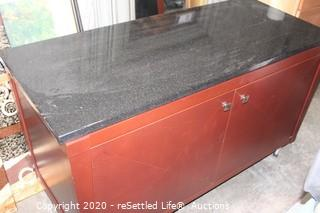 Console and Granite Top