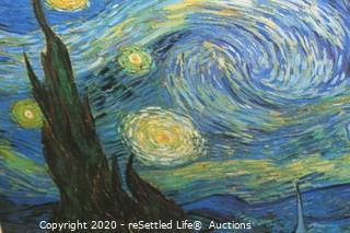 "Van Gogh ""The Starry Night"" and Mirror"