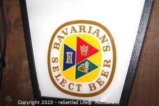 Bavarians Beer Sign