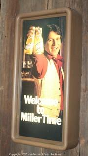 """Welcome to Miller Time"" Bar Sign"