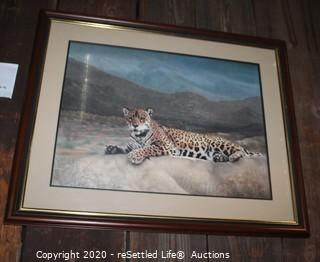 Limited Edition Charles Frace' Framed Art