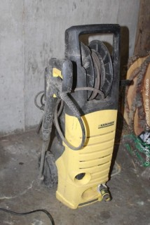 Air Compressor and Power Washer