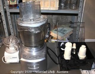 Cuisinart Food Processor and Cuisinart Chopper