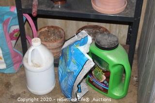 Shelf and Gardening Supplies