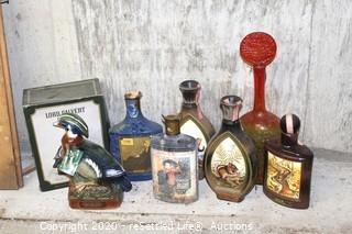 Collectible Decanters (7)