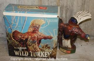 Wild Turkey and Beam's Choice Collectible Decanters(8)