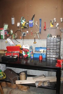 Work Bench and Contents